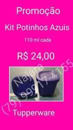 Kit potinhos Tupperware