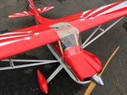 Aeromodelo Decathlon 120 Seagul. Estudotrocas