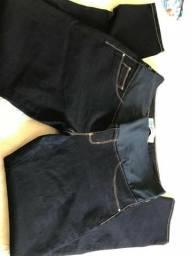 Vestido, Calça e short Jeans Gestante