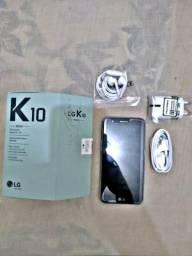 Celular Lg K10 Novo na caixa