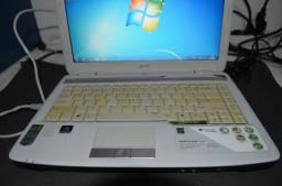 Notebook Acer Bom e Barato - Com fonte Original