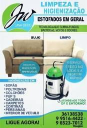 Promoção/ lavagem de sofá 99516-4422
