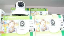Camera Ip Hd Audio Bi-direcional Angulo