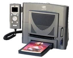 Impressora HiTi 640ID para fotodocumento Dye Sublimation - Usada em estado de novo com pou