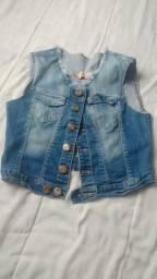 Colete Jeans! Baratoooooooo