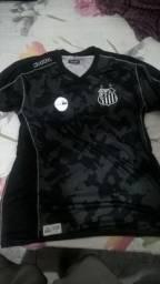Camisa do santos fc 3 uniforme kappa tamanho xg b85350705b05e