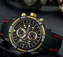 Relógio Original Multifuncional MEGIR