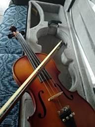 Violino Nhureson IV Estudo 4/4 C/ Case