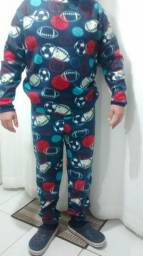 Pijama adulto para o inverno