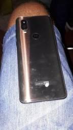Motorola one Vision aparelho semi novo com nota fiscal todos os acessórios originais