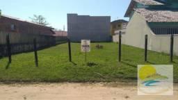 Terreno na quadra do mar à venda, 360 m² por R$ 180.000 - Brasília - Itapoá/SC