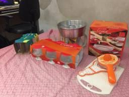 Kit de itens para cozinha