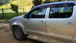 Toyota Hilux cd 4x4 srv automática 2010 diesel - 2010