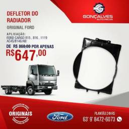 DEFLETOR DO RADIADOR ORIGINAL FORD