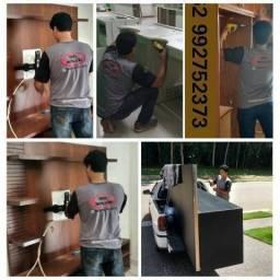 Montador de móveis com transporte