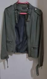 Jaqueta verde militar, tamanho M