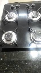 Cooktop 4 bocas ficher funcionando bem R$200
