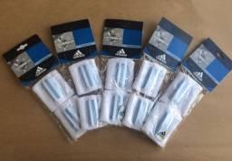 Munhequeira adidas - atoalhada - kit com 5 pares -