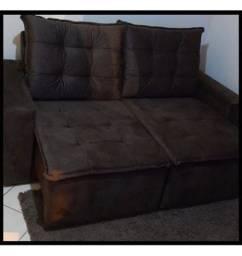 Oferta Imbativel * Sofá Retrátil e Reclinável Debora Com Pillow R$ 1.299,00