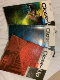 Livro Ingles close up B1 - kit 3 livros