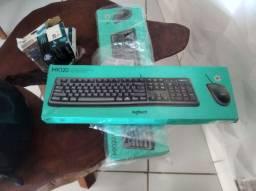 teclado e mouse completo