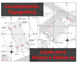 Levantamento Topográfico p/ Alvará e Habite-se