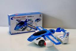 Carro Voador Brinquedo Avião Transformers - A Pronta Entrega
