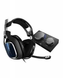 Headset ASTRO Gaming A40 TR + MixAmp Pro TR Gen 4 com Áudio Dolby para PS4, PC, Mac , Xbox
