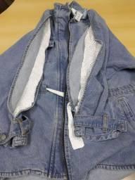Jaqueta jeans nova Tam G
