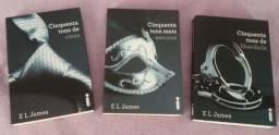 Box Livros - Trilogia Cinquenta tons de cinza