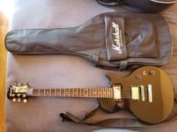 Guitarra Les Paul Marshall Preta 2 Humbucker