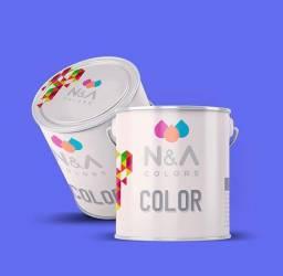 Tintas de parede Premium Fosca e Semi brilho