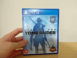 Jogo Rise of the Tomb Raider 20 Year Celebration - Playstation 4