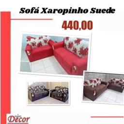 Lindo conjunto de sofá xaropinho