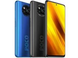 Xiaomi Poco X3 Nfc 128GB 6GB Ram Tela 6.67 5160Mah Global Dual Lacrado Pronta Entrega