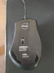 Mouse Dazz e placa vídeo RX 550 2g vram