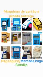 Maquinas de cartão Pagseguro Mercado Pago e SumUp a pronta entrega