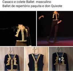 Colete e casaco Ballet tamanho M