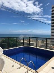 Cobertura duplex, 2 quartos, suíte master com closet, vista mar, 155m² - Costa Azul