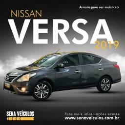 Título do anúncio: Nissan Versa SL 1.6 2019