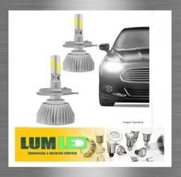 LED H9 Kit Automotivo 2D 6000K 12-24V Super Branco ? Carro e Caminhao