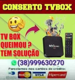 Consertamos tvbox mxq mx9