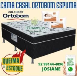 Título do anúncio: cama casal ortobom @@### oferta
