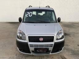 Fiat Doblo 1.8 Essence GNV 7 Lugares Completa 2020 (troco e financio)