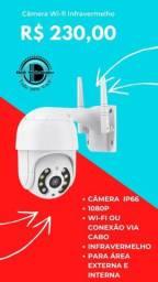 Câmera Externa Wi-fi Sensor de movimento e Infravermelho. Produto novo. dell variedades.