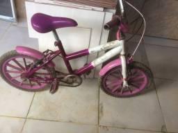 Título do anúncio: Bicicleta aro 16 feminina