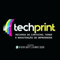 Recargas de cartuchos e manutenção em impressoras