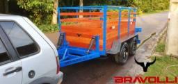 Carretinha e Reboque Modelo GM-1.4 - Linha dinâmica e Premium
