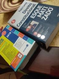 Livro Direito Constitucional Esquematizado -Pedro Lenza + Vade Mecum Compacto Saraiva