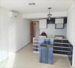 Condomínio Easy - Vieiralves - 72m² - 02 suítes - Porcelanato - Modulados